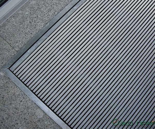 4-Хенде-Придверная алюминиевая решетка